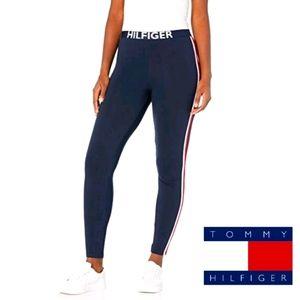 Tommy Hilfiger Womens Retro Style Logo Leggings